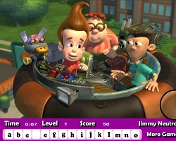 Jimmy Neutron Hidden Letters