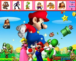 Mario Island Hidden Objects