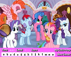 My Little Pony Hidden Letters