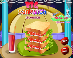 Big sandwich Decoration