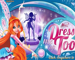 Winx Dress Me Up Too